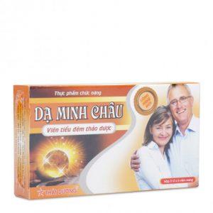Thực phẩm bảo vệ sức khỏe hỗ trợ điều trị các chứng tiểu đêm, đau mỏi lưng Dạ Minh Châu (2 vỉ x 6 viên/hộp)