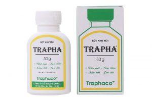 Bột khử mùi làm thơm Trapha 30g