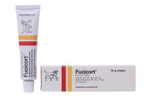 Kem trị viêm da nhiễm khuẩn Fucicort 15g
