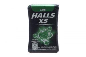 Kẹo ngậm không đường Halls XS hương Chanh 15g