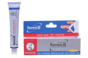 Gel trị ngứa, viêm da Remos IB 10g