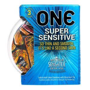 Bao Cao Su One Super Sensitive (3 cái/hộp)